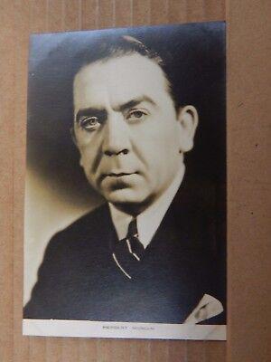 Film Star Postcard Herbert Mundin Film Weekly 112. Real Photo unposted