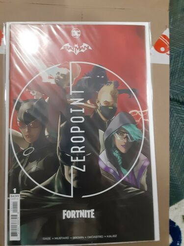 Batman Fortnite # 1 Zero Point Sealed Harley Quinn Code