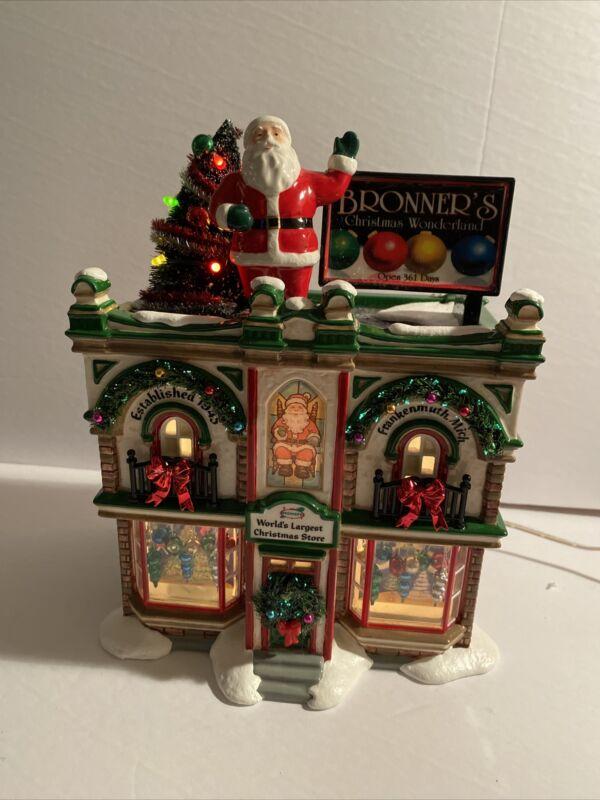 Dept 56 The Original Bronner's Christmas Wonderland #06226 Original Snow Village