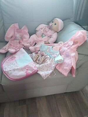 Baby Annabell Interactive Doll & Accessories Please Read Description
