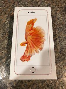 Rose Gold iPhone 6S Plus 128GB