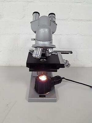 Reichert Binocular Microscope Lab 4 Objectives Oel 1001.25 Meiji 40