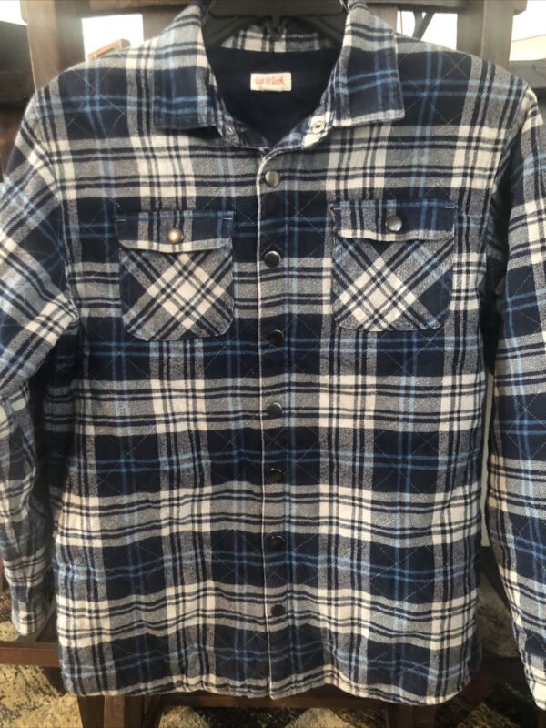 Boys Flannel Lined Jacket
