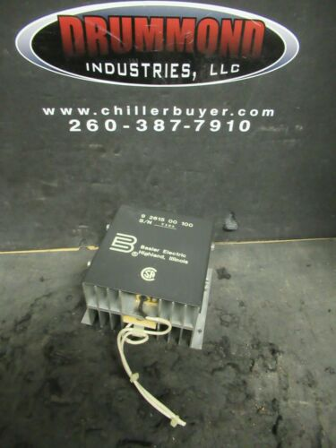 BASLER ELECTRIC 9 2615 00 100 RADIO FREQUENCY INTERFACE FILTER RF CONTROLLER