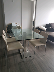 Milano furniture Glass Dining table Waterloo Inner Sydney Preview