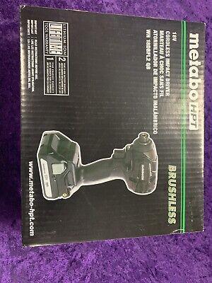 Hitachi Metabo Hpt 18v Brushless Hammer Drill Kit New Wh 18dbfl2 Qb Sealed