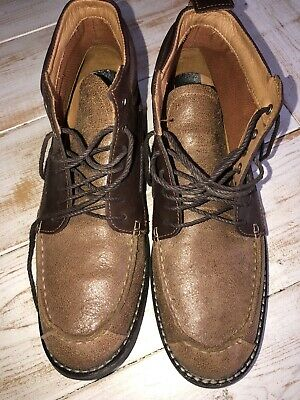 Timberland 73174 Earthkeepers Two Tone Brown Ankle Boots Men's Size