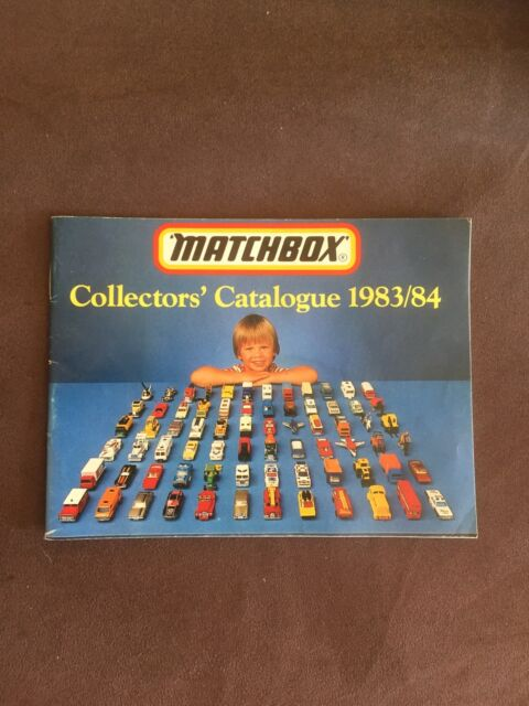 Vintage Matchbox Collect's Catalogue 1983/