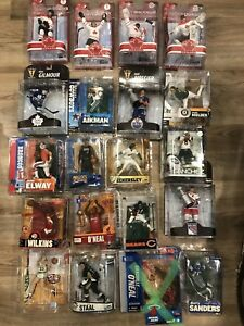 Nhl nfl nba mcfarlane figures