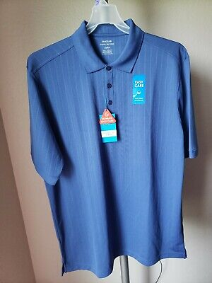 Haggar Cool 18 Pro Quick Dry Mens Short Sleeve Polo Shirt $45 Big & Tall Size