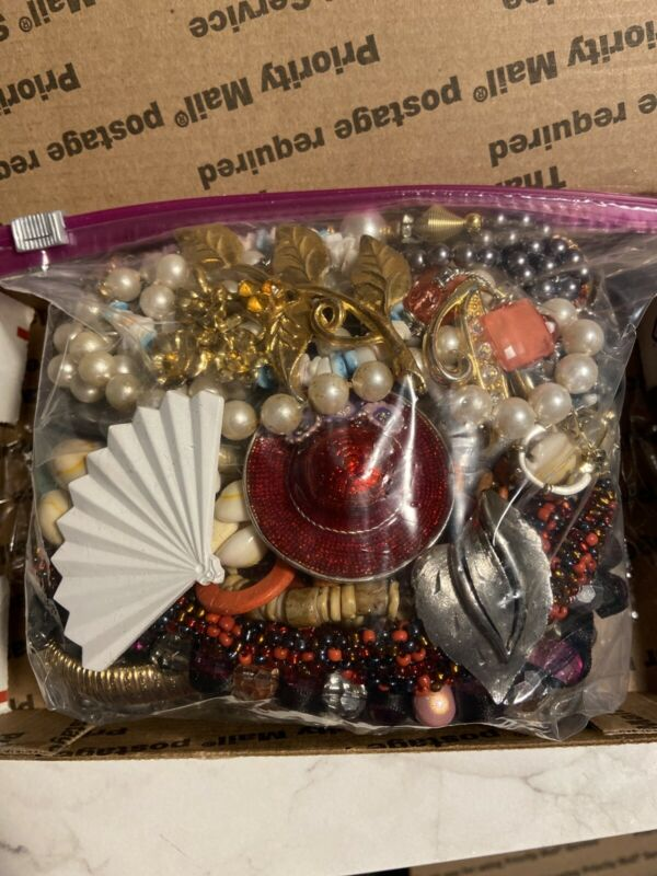 Lot of Costume Jewelry - Some Signed, Vintage Grab Bags! Unsearched, Untested