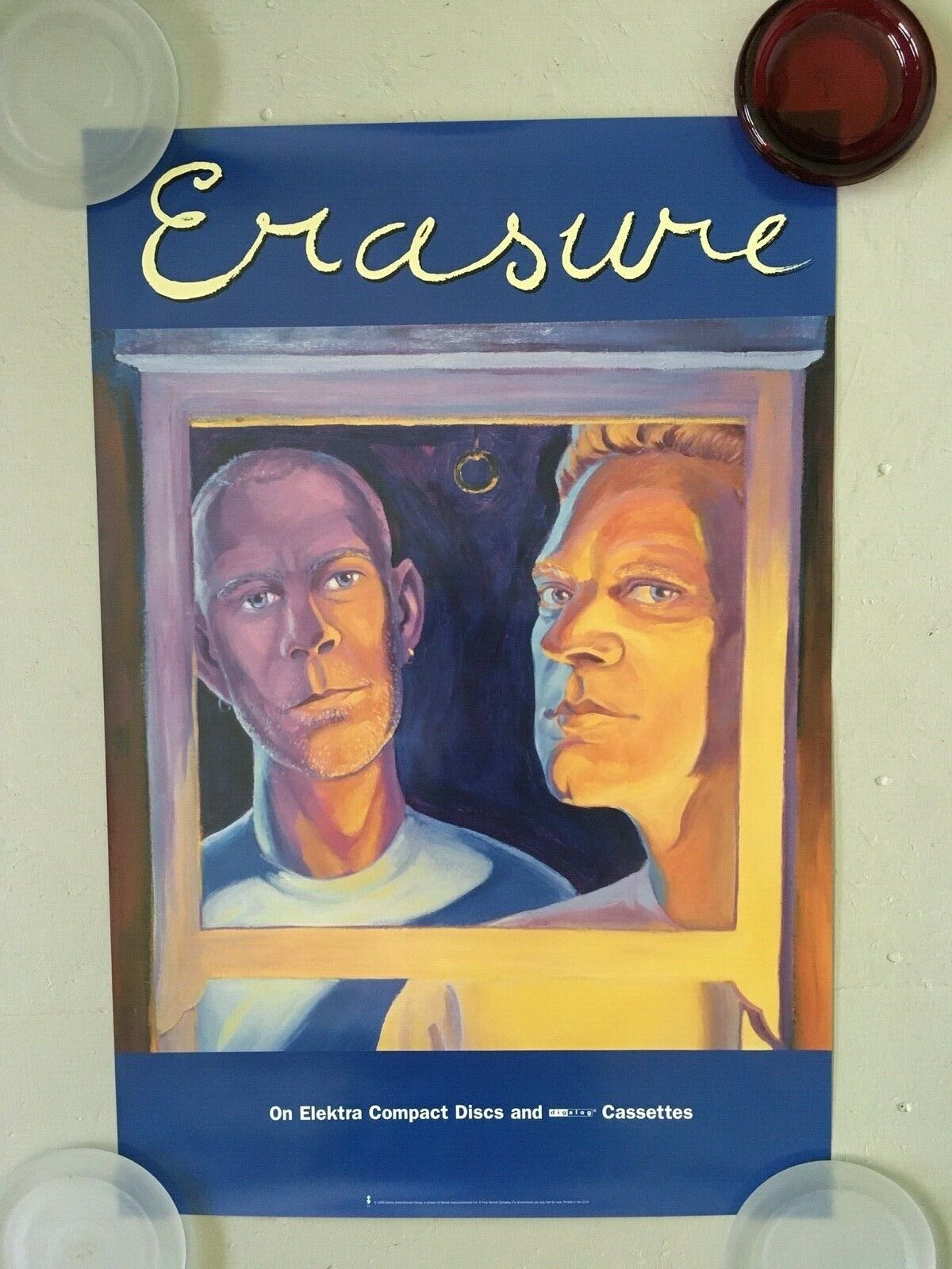 ERASURE - Erasure - 95 Promo Poster - 20x30 - USA  - $29.99
