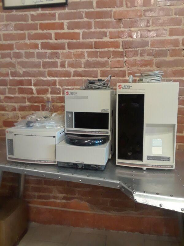 Beckman Coulter System Gold HPLC System 508, 168, 126 Plus Bonus