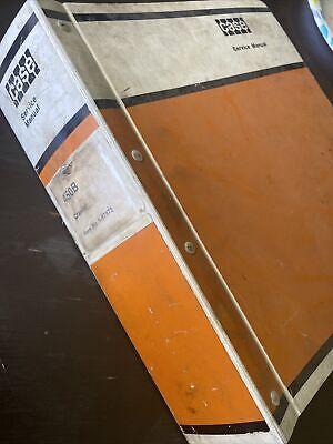 Case 450b Crawler Bulldozer Service Manual Repair Shop Book Guide Overhaul Oem
