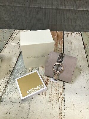 "Michael Kors Mini Petite Darci 26mm Stainless Women's Watch (MK3298) ""OPEN BOX"""