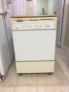 Portable Dishwasher with Counter
