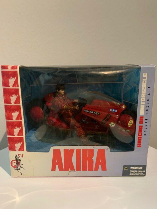 AKIRA Kaneda on Motorcycle Deluxe Boxed Set 2001, McFarlane, NIB, Unopen