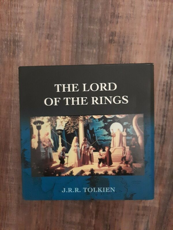 The Lord of the Rings J.R.R. Tolkien 13 Disc BBC Audio Book CD Box Set Series