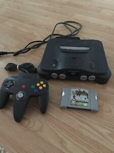 N64 System and Golf Game