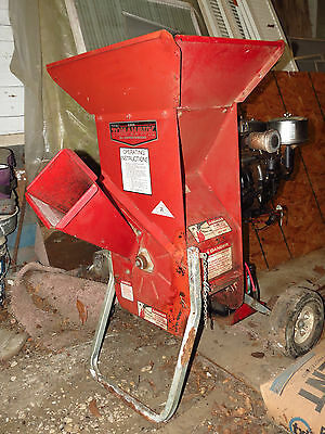 Troy Built Tomahawk Chipper Shredder