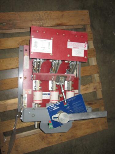 Blo32160i Square D 1600a 3ph 240v Red Back Base Switch Used E-ok