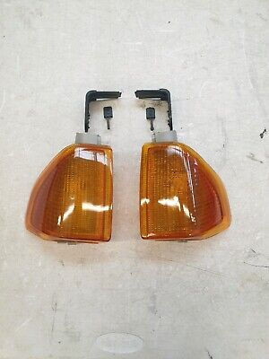 ESCORT MK3 NEW FRONT INDICATOR LAMP SET SERIES 1 RS TURBO XR3i GHIA