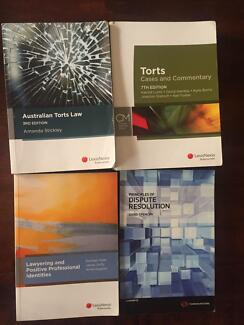 First semester law textbooks