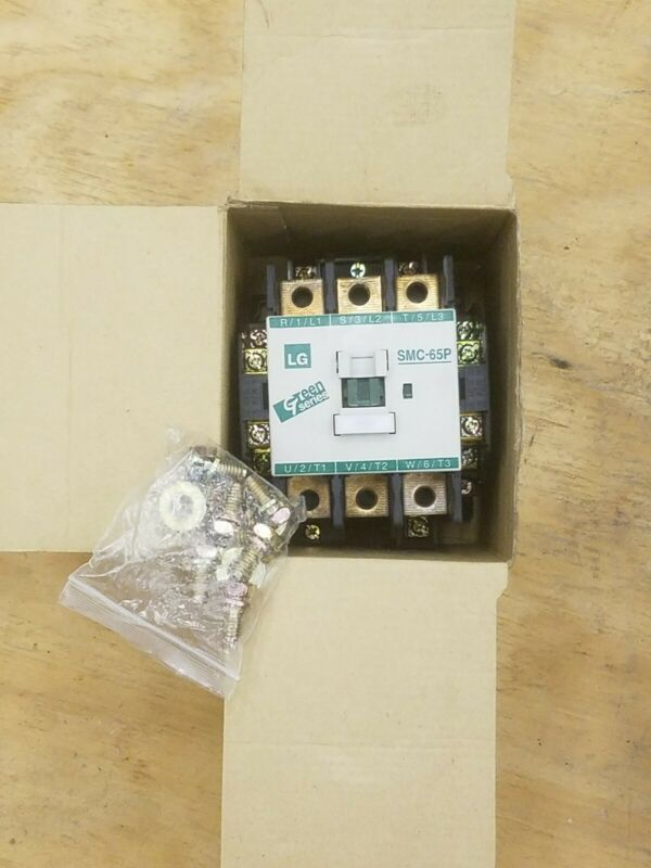LG Contactor SMC-65P w/ 120VAC Coil Rated to 65 Amps 40HP @ 480 V - NEW in Box