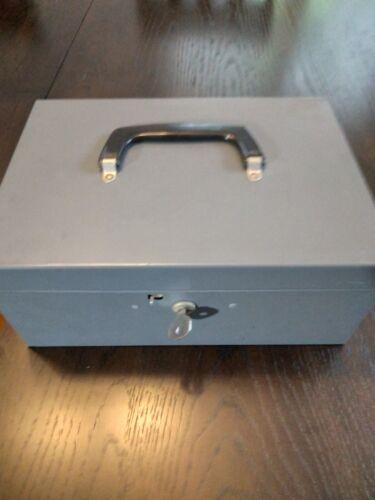 Huntlit Lit-Ning Hunt Manufacturing Metal Cash Box With Key