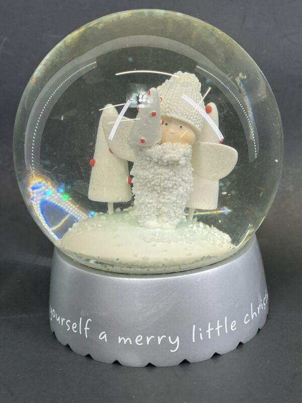 Department 56 Snow Babies Snow Globe Have Yourself a Merry Little Christmas 2009