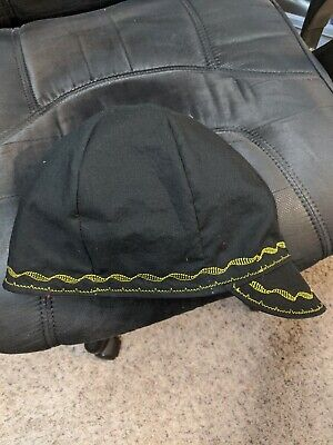 Wendys Welding Hat Made With Black Yellow Combo Application New