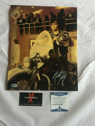 MEAT LOAF AUTOGRAPHED SIGNED 11x14 PHOTO! ROCKY HORROR PICTURE SHOW! BECKETT!