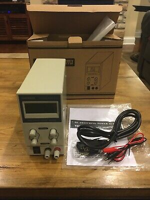 Tekpower Tp3005e Regulated Dc Variable Power Supply 0 - 30v At 0 - 5a