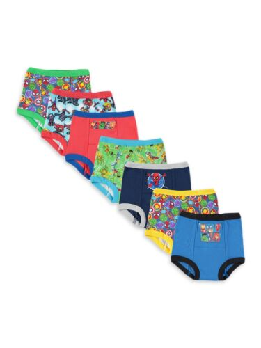 Marvel Super Hero Adventures Toddler Boys Training Pants, 7-Pack, 4T