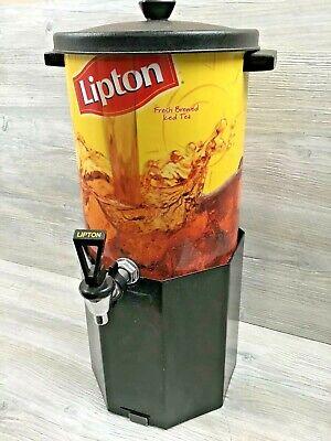 Restaurant Style Lipton Fresh Brewed Iced Tea 3 Gallon Dispenser W Stand 2002