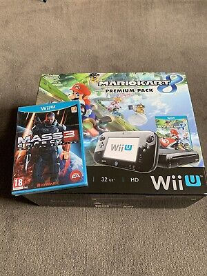 Nintendo Wii U 32gb Console And Games