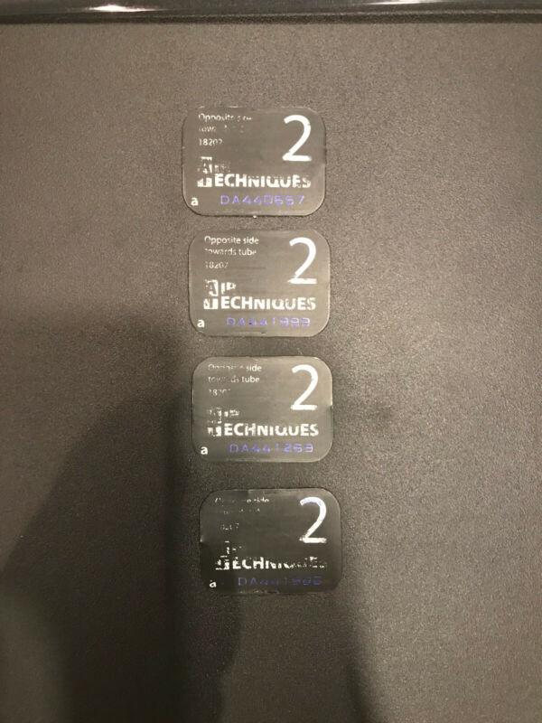 AIR TECHNIQUES SCANX PHOSPHOR DENTAL  PLATES SIZE 2  4PK