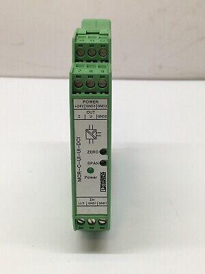 Signal Conditioner Mcr-c-ui-ui-dci 2810913 Phoenix Contact