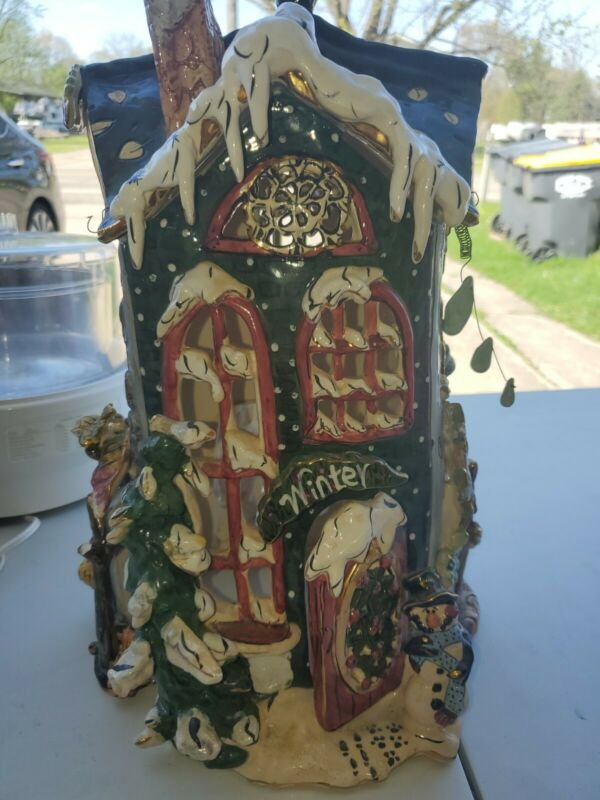 Blue Sky Clayworks All Four Seasons House Heather Goldminc (READ)