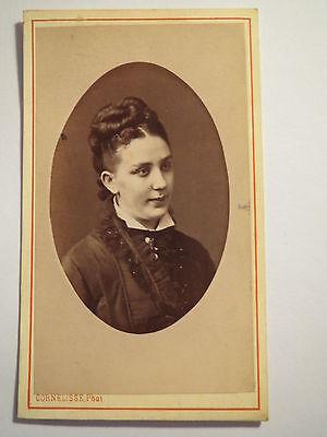 Bruxelles - Rotterdam - Frau im Kleid - Portrait / CDV