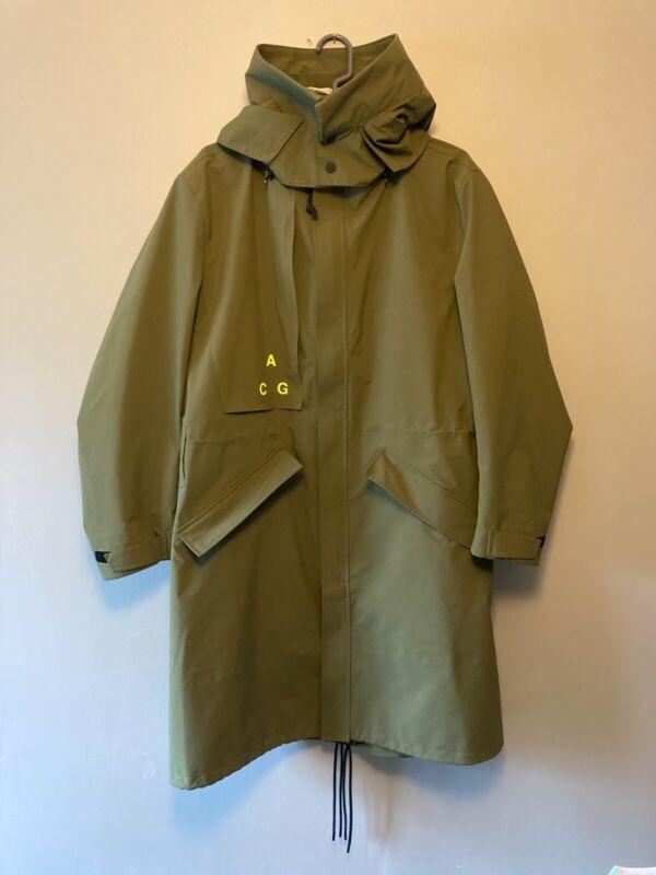 Nike NikeLab ACG Gore-Tex Hooded Coat Olive Green AQ3516-395 Size S