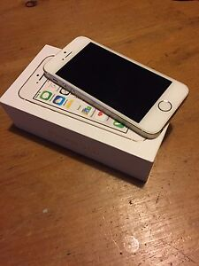 Gold 16GB iPhone 5s and camo otter box