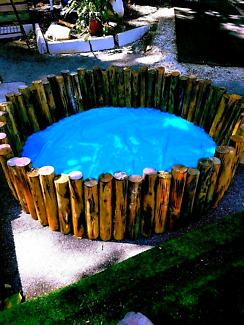 Wooden Pond and Liner