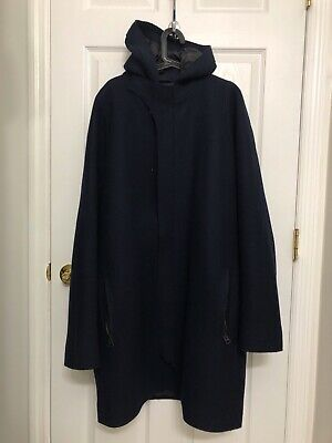 Acne Studios Mens Milton Coat sz 52 Navy