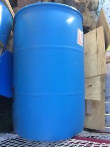50 GAL Plastic Barrel
