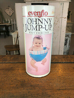 VINTAGE JOHNNY JUMP UP BABY EXCERCISER Swing Infant doorway jumper old