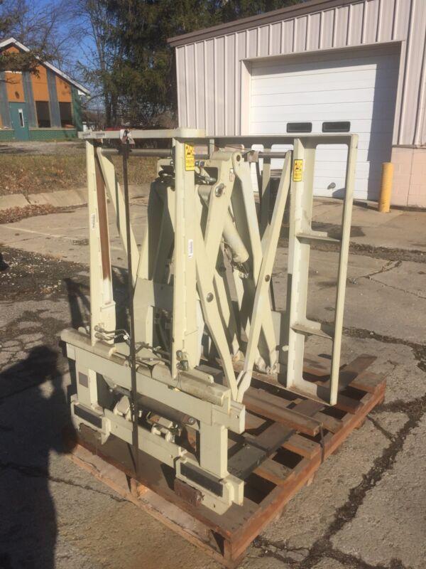Cascade Pallet Attachment 45e Forklift Hydraulic Push Attachment-will Ship