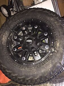 """17"""" rims and tires forsale for Ford F-150"""