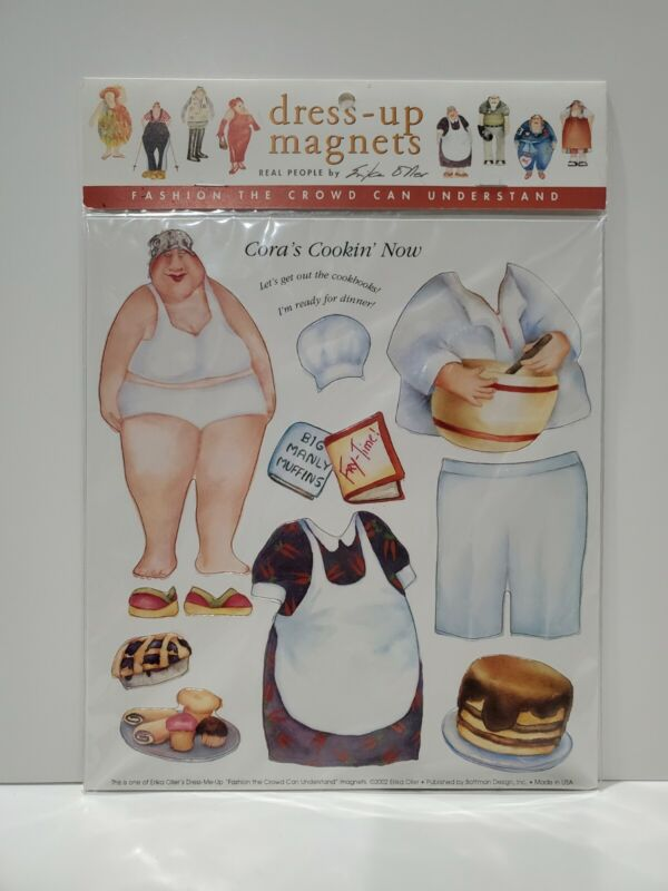 Dress-Up Magnets, Real People by Erika Oller, Cora