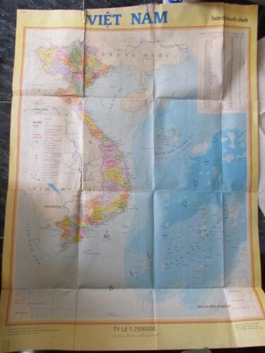 Vietnam map_HO CHI MINH-HA NOI